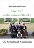 Abbildung des Titelbildes von 'Ein Dorf rettet seinen Dialekt'