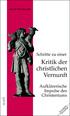 Abbildung des Titelbildes von 'Schritte zu einer Kritik der christlichen Vernunft'